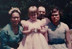 Agnes, Katrina (Dick's daughter), Grampy Joe, Frances (my Mom).