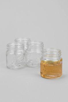 Mason jar shot glasses!
