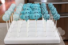 Sweet Bites: {Safari Theme} Blue Baby Shower