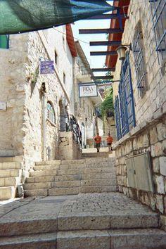 The climb . Jerusalem
