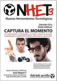 Tercer FABLAB NHET. 5 de marzo 2015. ETSA Universidad de Sevilla.