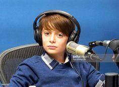 Actor Noah Schnapp visits SiriusXM Studios on September 1, 2016 in New York City.