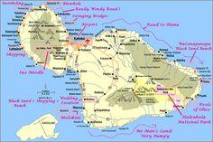 Looking forward to exploring waterfalls in Maui guide map maui | mauimap