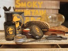 Quite possibly the best Beard Care Products on the planet. Shop our Beard Oil, Beard Balm, Face & Beard Soap & Beard Care Kits. https://www.smokymountainbeards.com/