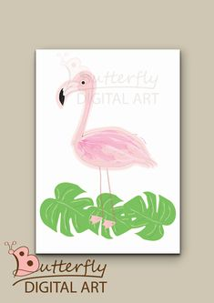 Excited to share the latest addition to my #etsy shop: flamingo wall art/ instant download/ nursery decor/ nursery instant download/ birds decor/ birds printable download http://etsy.me/2CwRl4n #art #drawing #pink #babyshower #green #flamingowallart #instantdownload #n