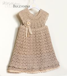 Explore bugdanina.olga's photos on Flickr. bugdanina.olga has uploaded 429 photos to Flickr. Baby Knitting Patterns, Crochet Patterns, Crochet Baby Clothes, Crochet For Kids, Crochet Crafts, Little Princess, Baby Dress, Girls Dresses, Short Sleeve Dresses