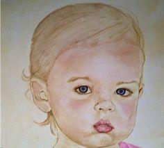 Blue Eyes Portrait    Shannon Knopke Fine Art