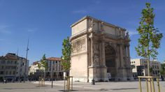 La porte d'Aix.. From south france in city of Marseille. #cityscape  #monument  #france  #photography