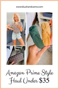 I've been loving shopping on Amazon because most of my items I get the next day and they are so affordable! Here is a budget-friendly haul! #amazon #amazonshopping #amazonhaul #amazonclothing #summerstyle #springstyles #ootd #fashionblogger