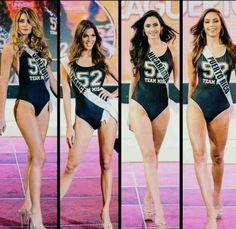 Miss Venezuela - Mariam Habach, Miss France - Miss Nicaraua y Miss Puerto Rico, en su primer Desfile en Traje de Baño, en Manila Filipinas, para el Miss Universe 2016-2017... By Antoni Azocar
