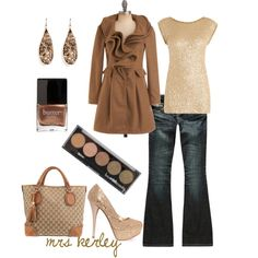 A fashion look from October 2011 featuring Donna Karan tops, Ryu coats and ZCO jeans. Browse and shop related looks.