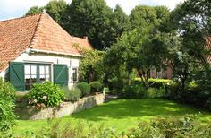 Landelijke tuin of cottagetuin