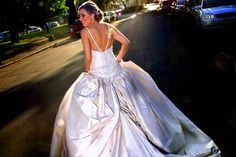 Liade's unique bridal gowns combine a love of perfection and structure with a passion for individuality.