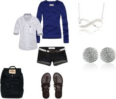 """casual"" by tavia-dawn-bechtel on Polyvore"