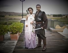 Beautiful Star Wars Wedding Dress and Suit My wedding, if I ever decide to get married