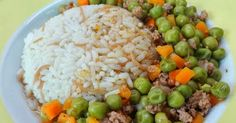 Enjoy traditional Lebanese food recipes and learn how to make Peas with rice (Bazella W Riz).