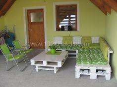 My Pallets Balcony Set | 1001 Pallets