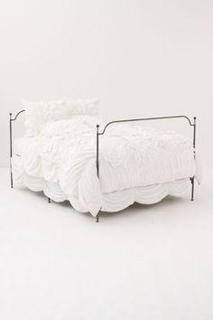 White Duvet- Anthropolgie