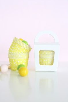 Baking Candy Cups – Yellow