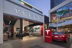 Tesla showroom by MBH Architects, Los Angeles - California