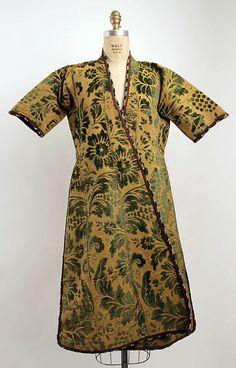 Turkish Robe, 20th century, silk, cotton, wool