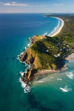 Byron Bay, most easterly point of Australia