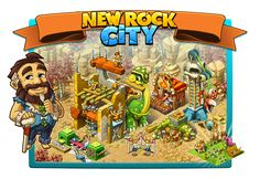 New Rock City: Labor Day Paradise City, Prehistoric, Create Yourself, Comic Books, Rock, Comics, Day, Cover, Stone