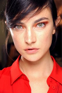 Backstage Beauty - Chloe Spring 2013