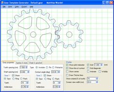 Gear Generator Make geared toys on CNC