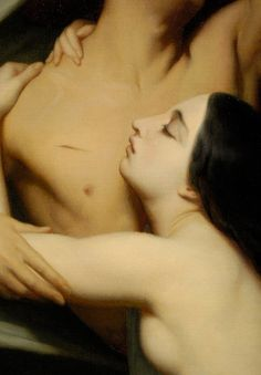 Artemis added:  Detail of The Ghosts of Paolo and Francesca Appear to Dante and Virgil, 1855 - Ary Scheffer