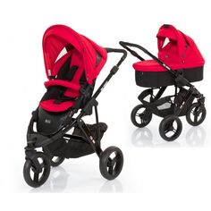 Accesorii bebelusi :: Carucioare copii :: Carucioare 2 in 1 :: Carucior Cobra 2 in 1 Abc Design (Culoare: Cranberry)