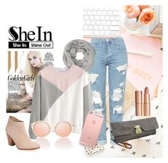 """""""Shein-Everything She Needs"""" by bagmerchant on Polyvore featuring Topshop, John Lewis, Maiden Lane and Charlotte Tilbury"""