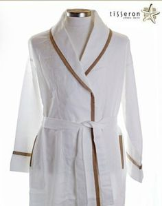 e4ca84b911 Designer Light Weight Cotton Robe Made In The Waban USA. Tisseron Design ·  Womens Bathrobes in Lightweight Organic Cotton