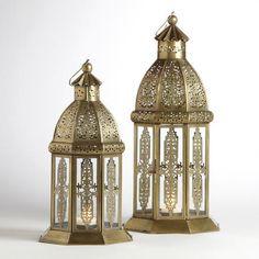 World Market Luce Lantern Candle Holders. Gone???