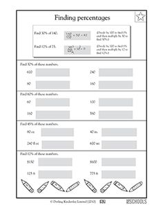 Figuring Percents - What\'s My Discount Worksheet | Worksheets ...