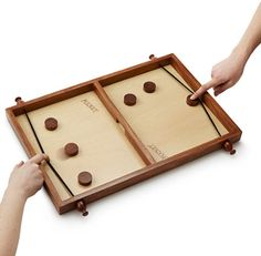 Board Game Wood Pucket Handmade #Pucket