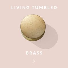 Living Tumbled Brass is a popular finish that is created from our machined brass.  The individual parts are polished and mechanically vibrated (tumbled) to produce a unique, untreated surface. The living finish will evolve, producing an individual piece that will naturally darken and tarnish over time.  #Sussextaps #CraftedInMelbourne #livingtumbledbrass #tumbledbrass
