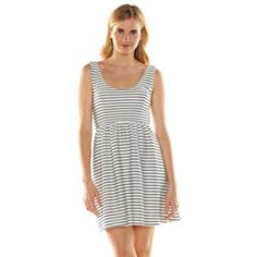 Absolutely love this LC Lauren Conrad Print Crisscross-Back Dress. Great for summer!