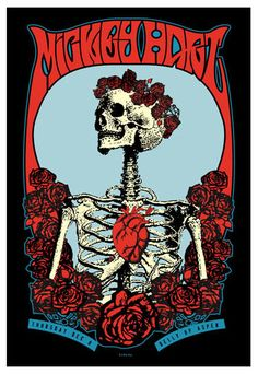 Love This : Scrojo Mickey Hart Poster Concert Posters, Music Posters, Art Posters, Sound Of Music, Music Is Life, Mickey Hart, Dead And Company, Midnight Sun, Blue Roses