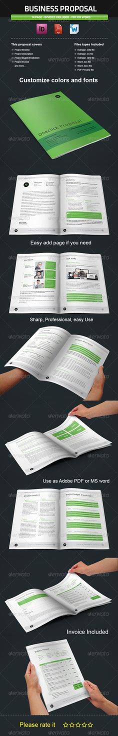 Project Proposal Vol2 Project proposal, Proposals and Proposal - microsoft office proposal templates