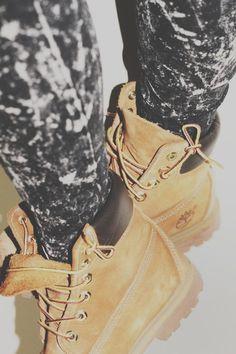 bb597f6c4bc3 Timberland boots i want sooooo bad I want he tights