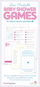 Baby Shower Games [Free Printables]