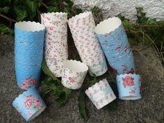 Muffin Cups, con motivos florales