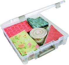 ArtBin 6955AB Super Satchel 1-Compartment Box, Translucent Clear ArtBin http://smile.amazon.com/dp/B004102J8Q/ref=cm_sw_r_pi_dp_199Mvb0MRNJ87