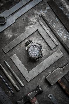 Flat Lay Photography, Clothing Photography, Product Photography, Yamagata, Foto Still, Casio G Shock Watches, Watches Photography, Amazing Watches, Watch Display
