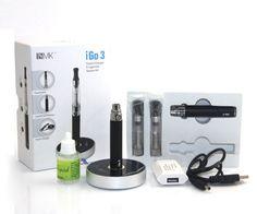 #E-cig kits # battery # atomizer # vapor # IGO 4 kits #