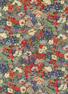 Liberty of London tana lawn fabric Thorpe 6 x 26 por MissElany