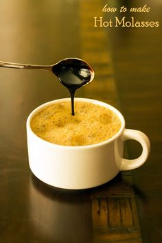 Hot milk with blackstrap molasses is a nutrient rich way to start your day. http://www.eatingrules.com/2013/10/hot-molasses/