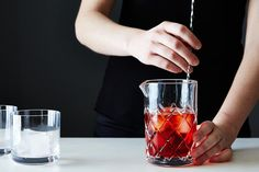 Stirring vs. Shaking from Food52