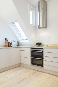 High Gloss Kitchen, Hampstead London, Interior Design London, Hill Interiors, Kitchen Doors, Douglas Fir, Kitchen Remodel, Kitchen Ideas, Cabinets